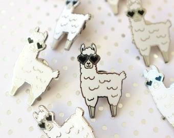 Seconds pin / Pin seconds / Llama pin / Seconds pin sale / Llama gifts / Cute enamel pins / Llama enamel pin / Hard enamel pin / Animal pins