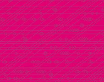 Andover Fabrics - Diving Board by Alison Glass - Latitude in Anemone - Modern Maker Box
