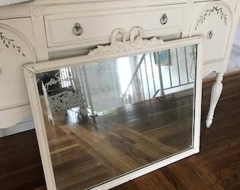 Beautiful Large Shabby Chic Mirror