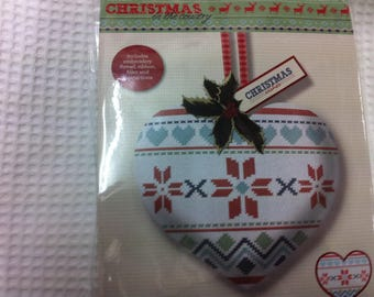 drawings of Christmas cross stitch Kit