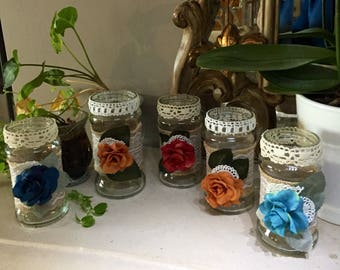 Small storage jars