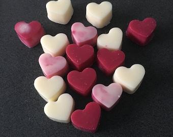 Love heart Soy Tart melts