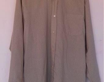 Men's spotty shirt - size XL/XXL