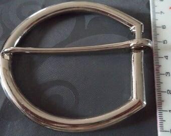 width 4 cm from new silver metal belt buckle