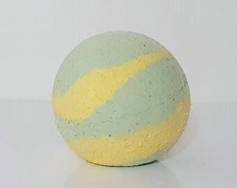 Mint Mojito Bath Bomb, Bubbly Bath Bomb, Bath Bomb, Green Bath Bomb, Bath Treats