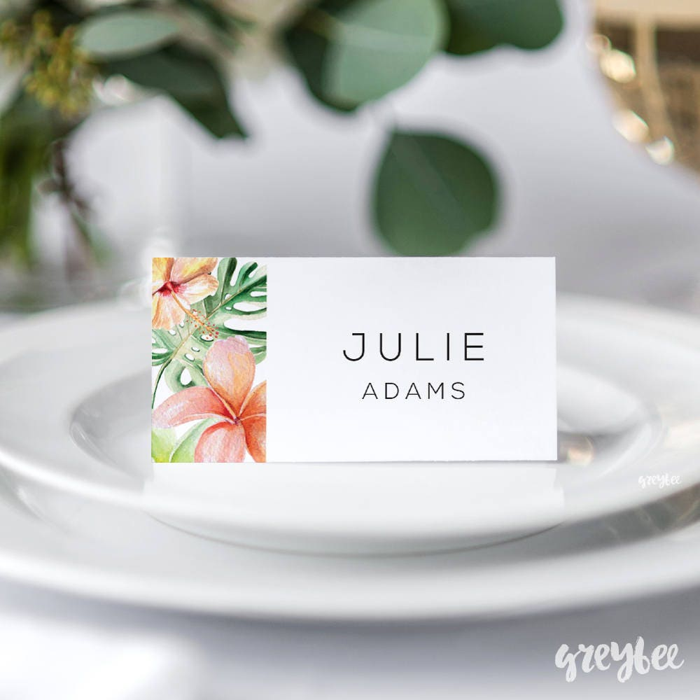 wedding place cards printable wedding name cards folded