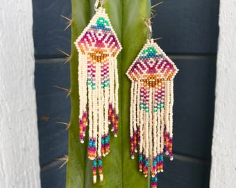 Tropical thunderbird earrings