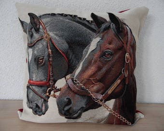 "Pillow Book and portable themed ""horses"""