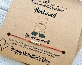 Schön Husband Valentine | Etsy