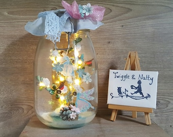Winter Fairytale Light Jar