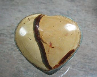 25% OFF Mookaite Puffed Heart 39 mm - Item 76780