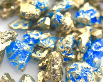 Blue Goldirocks Gilded Rock Sugar, Gold Rock Sugar, Gold Nuggets , Chunky Sugar, Cotton Candy Rock Sugar, Gold leafFancy Sprinkles