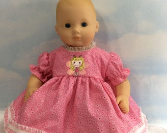 """Pink angel for 15"""" Bitty Baby"""