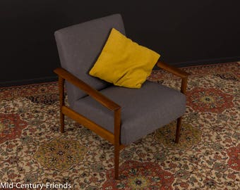 60s Chair, sofa, TEAK and 50's, vintage (709045)