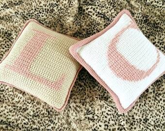 Alphabet Charts/Crochet Alphabet Charts/Alphabet Knitting Charts/Crochet Letter Chart