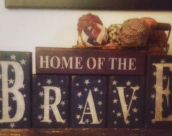 americana home decor | etsy