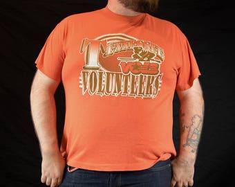 XL, 90s, College Football, SEC, Tennessee, Vols, Vintage, Tshirt