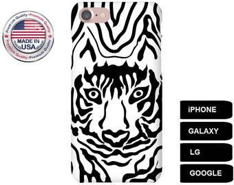 Tiger Phone Case, Phone Case Tiger, Tiger iPhone Case, Tiger Galaxy Case, Tiger Google Pixel, Tiger LG Case, iPhone 6 Case, iPhone 7 Case