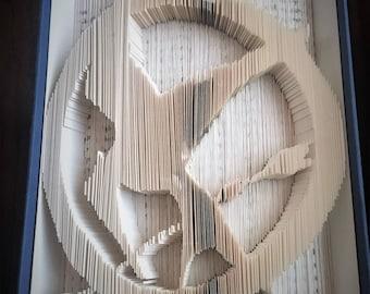 Mockingjay Book Folding - The Hunger Games
