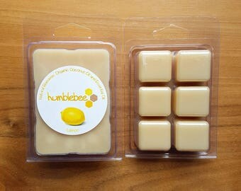 Beeswax melt - 2.5 oz - Scented {Lemon}
