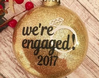 Christmas engagement  Etsy