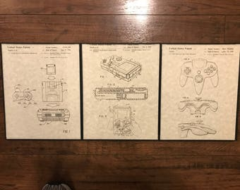 3 Pack - Nintendo Patents