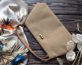 Mini textile handbag 90s