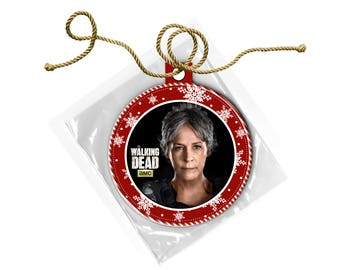 The Walking Dead Carol Peletier Melissa McBride Christmas Ornament