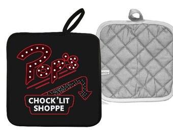 Riverdale Pops Chock Lit Shoppe Pot Holder