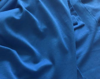 Fabric blue Jersey in 150 cm wide