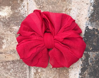 Red Ruffle Mini