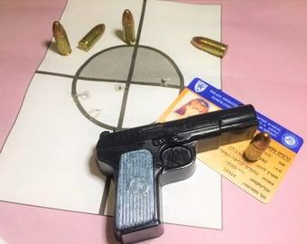Gun Soap,Pistol Soap,Mens Gift, Boys Gift,Military Gift,Gift for Him,Party Favor