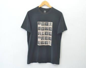KEITH HARING Shirt Vintage Keith Haring Designer Photo Print Artist Pop Art Street Graffiti Shirt Size M