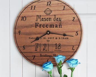 Baby Names Engraved - Personalized Names For Kids Rooms - Personalized Names For Nursery - Custom Names For Nursery - Baby Shower Gifts