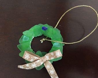 Bermuda Sea Glass Wreath