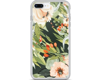 Fall Floral Green iPhone 7/7 Plus Case