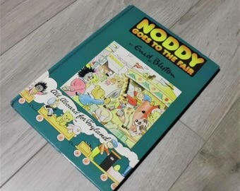 Noddy Goes To The Fair by Enid blyton 1st edition Ships Tomorrow