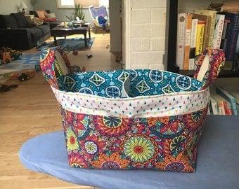 CUSTOM Diaper Basket