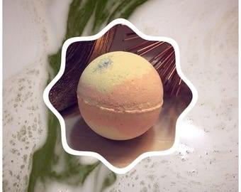 Peach Paradise Bath bomb