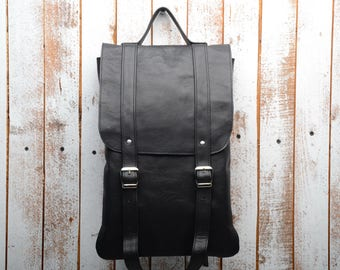 leather backpack, backpack, laptop backpack, woman backpack, woman backpack, sac à dos , leather rucksack, gift for woman