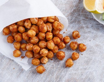 CHICKPEAS  100g/3.53oz Salted/crispy and NATURAL dried chickpeas