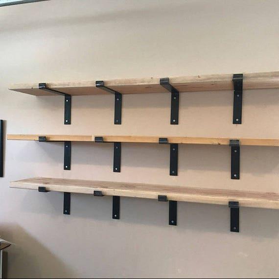10 inch deep x 2 inch wide x 1 4 thick steele shelf bracket. Black Bedroom Furniture Sets. Home Design Ideas