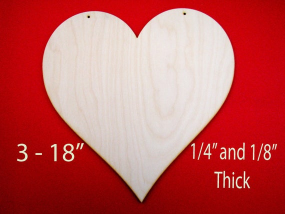 how to cut a heart shape out of wood