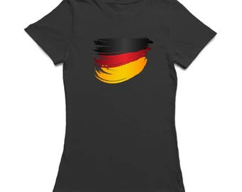 Germany Flag Stroke Women's T-shirt
