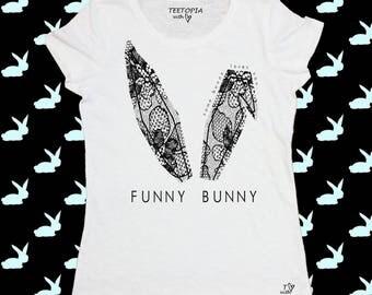FUNNY BUNNY  - t-shirt donna