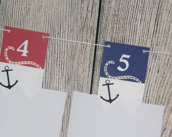 Nautical Monthly Photo Cards
