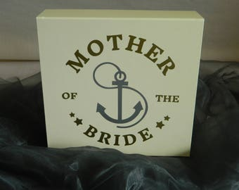 Mother of the Bride Gift Box, Wedding Gifts for Mother, Wedding Gifts