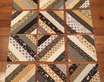 12 Unique Ten-Inch Quilt Blocks