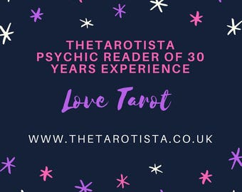 Your Life & Love Tarot Reading with photos by Email by Psychic Tarot Reader of 30 years experience