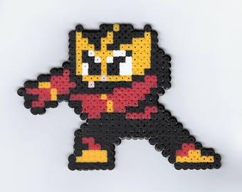 Elec Man Perler (Mega Man)